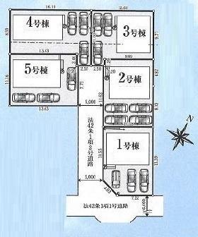 【VR施工例対応物件】青梅市大門3丁目 新築分譲住宅 全5棟